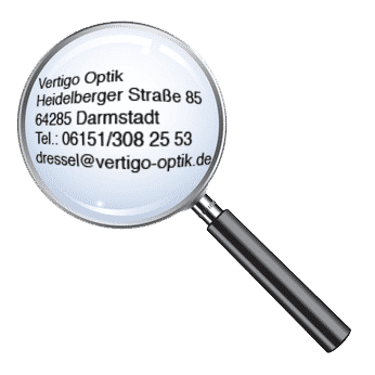 Optiker Darmstadt - Vertigo Optik - Kontakt
