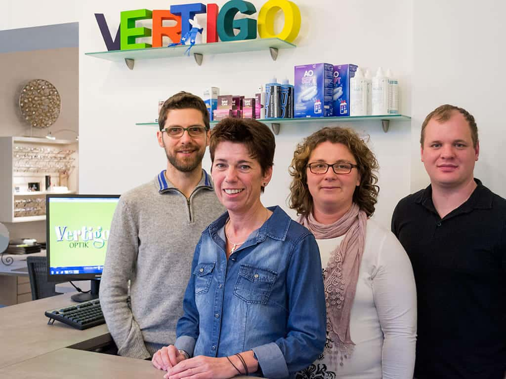 Optiker Darmstadt - Vertigo Optik - Team